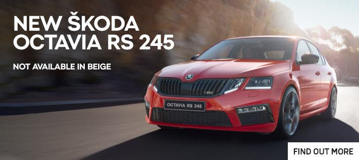 New Skoda Octavia RS 245
