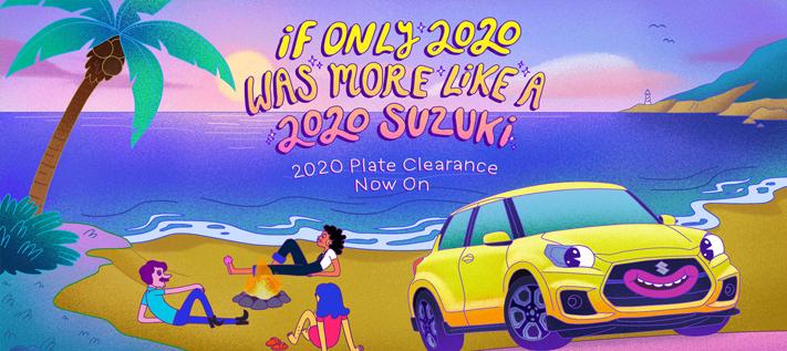 Suzuki Plate Clearance 2020