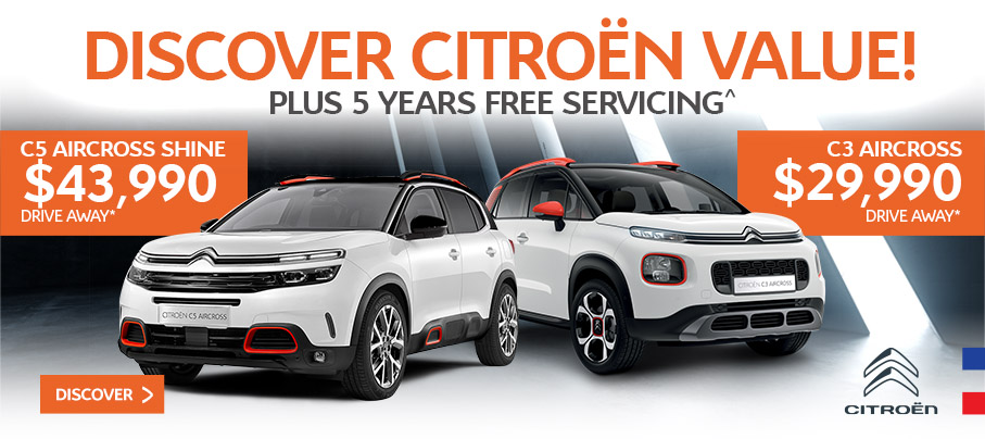 Citroen Offers January 2021