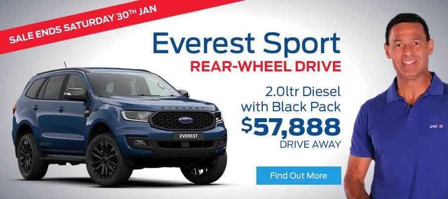 Ford Everest Sport TVC