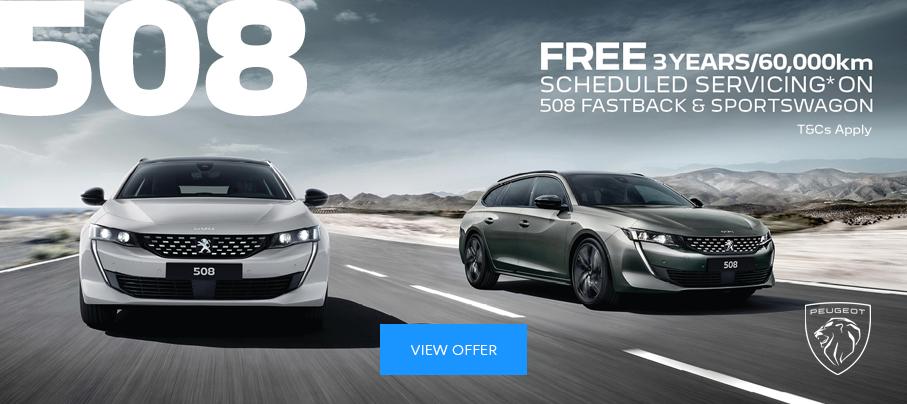Peugeot 508 - July Offer