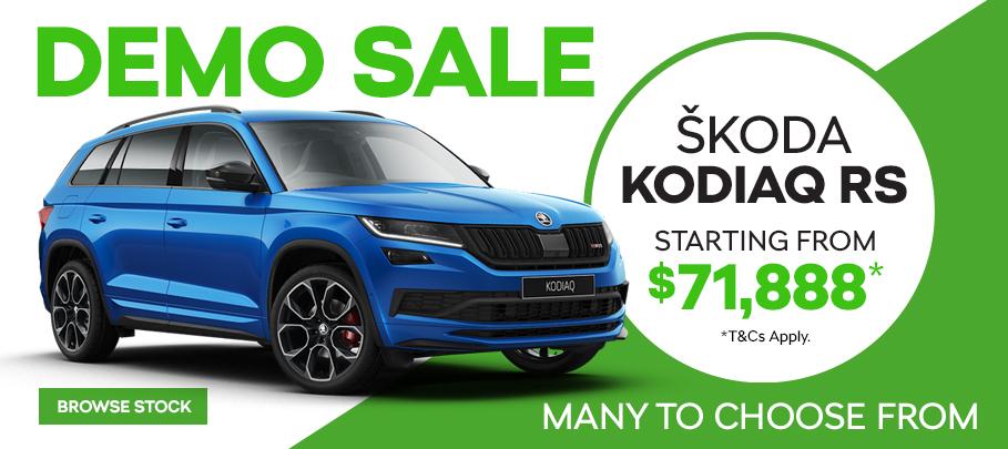 Skoda Kodiaq RS Demo Sale