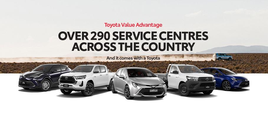 Toyota Value Advantage August 2021