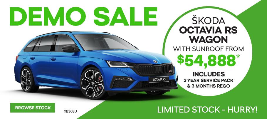 Skoda Octavia RS Demo Sale