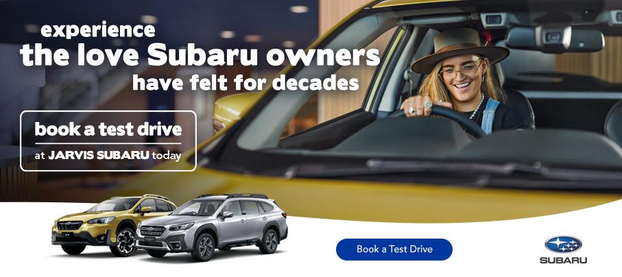 Subaru Book a Test Drive