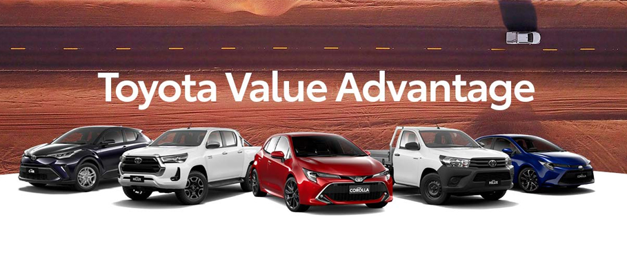 Toyota Value Advantage October 2021